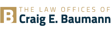 The Law Offices of Craig E. Baumann logo